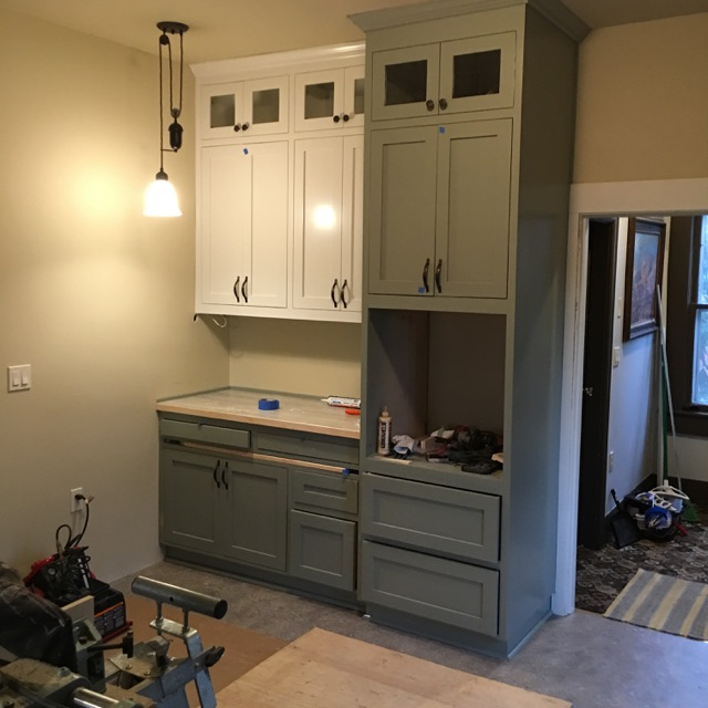 Handmade Cabinets in Mudroom - Country Cabinets and Millworks, Skagit County, Sedro Woolley, Washington