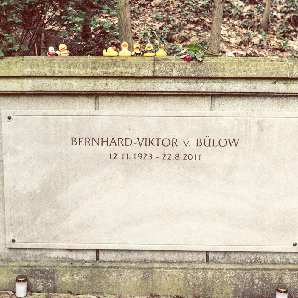 Grab von Loriot auf dem Waldfriedhof Heerstrasse