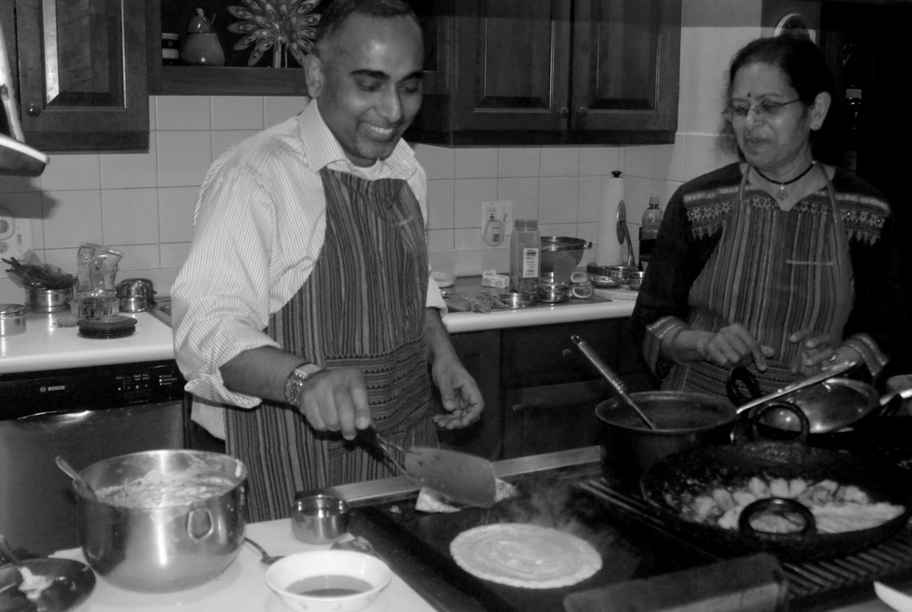 """AFTER THE FOUR CLASS SERIES I AM UNAFRAID TO TRY MANY OF THE DISHES  EVEN FOR MY INDIAN FRIENDS ""   MICHELE R."