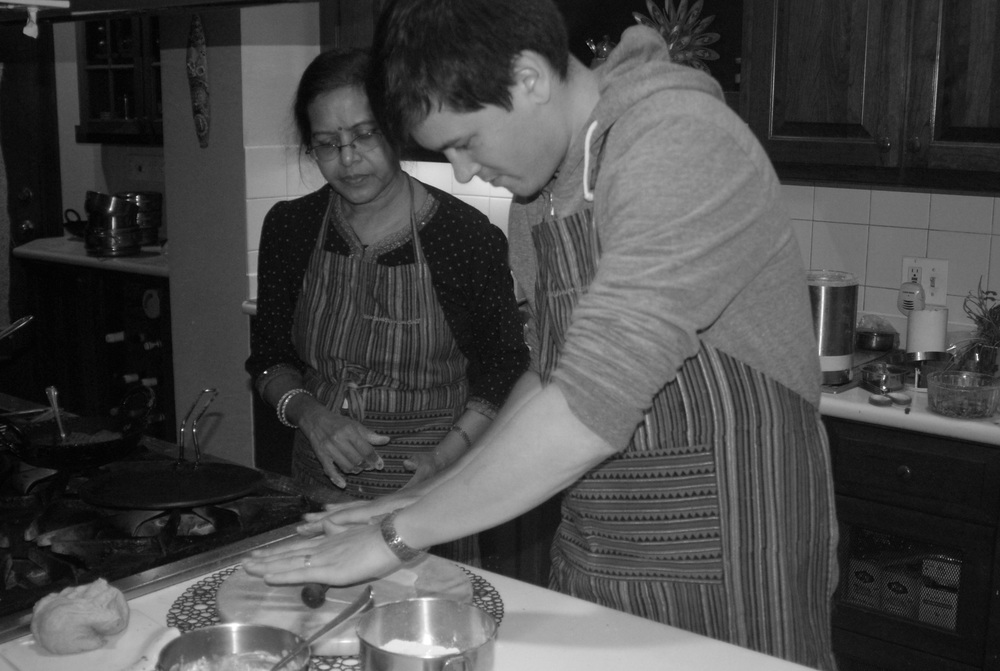 """WONDERFUL, INTIMATE... INFUSED WITH RANJANA'S COLORFUL STORIES. THE BEST COOKING CLASS I'VE EXPERIENCED.""   TAMMY O."