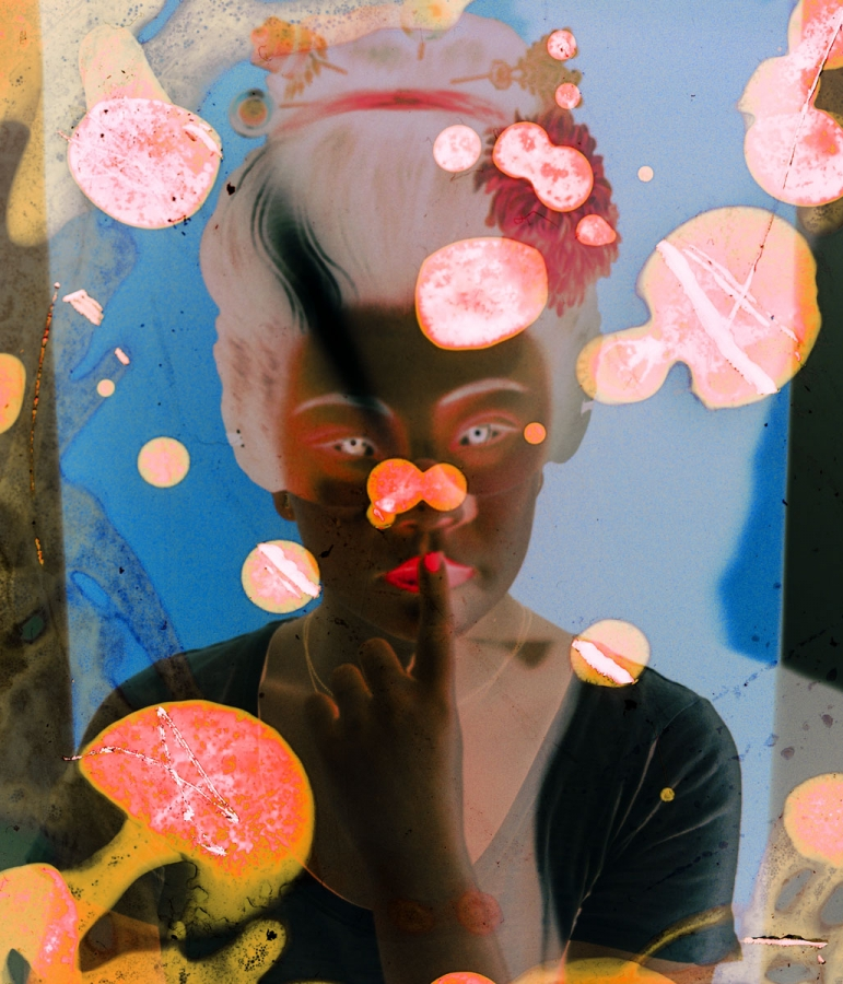 "GRAND PRIZE WINNER WINTER 2018   ""GEISHA"" FROM FUGUE STATE SERIES BY ALINE SMITHSON"