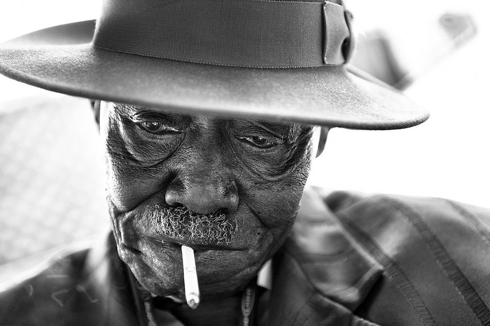 """PINETOP PERKINS"" BY JEROME BRUNET"