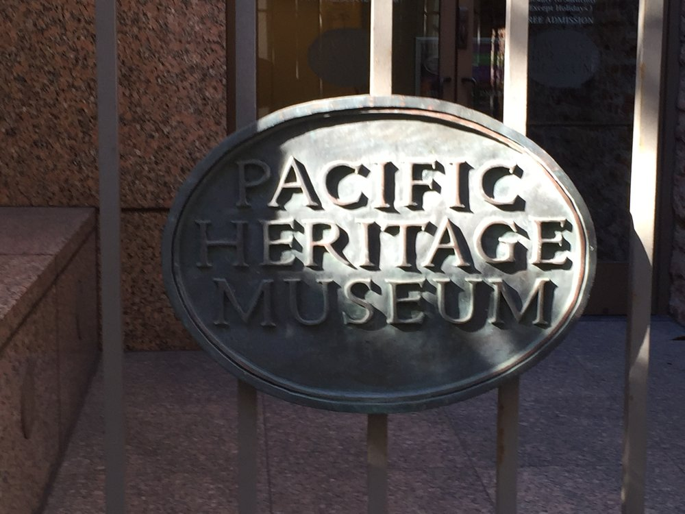 The Pacific Heritage Museum is the former US Mint built which opened in 1854.