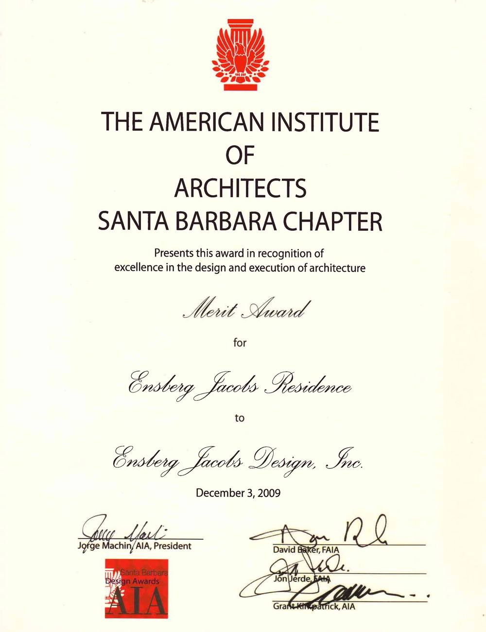 AIASB Design Award