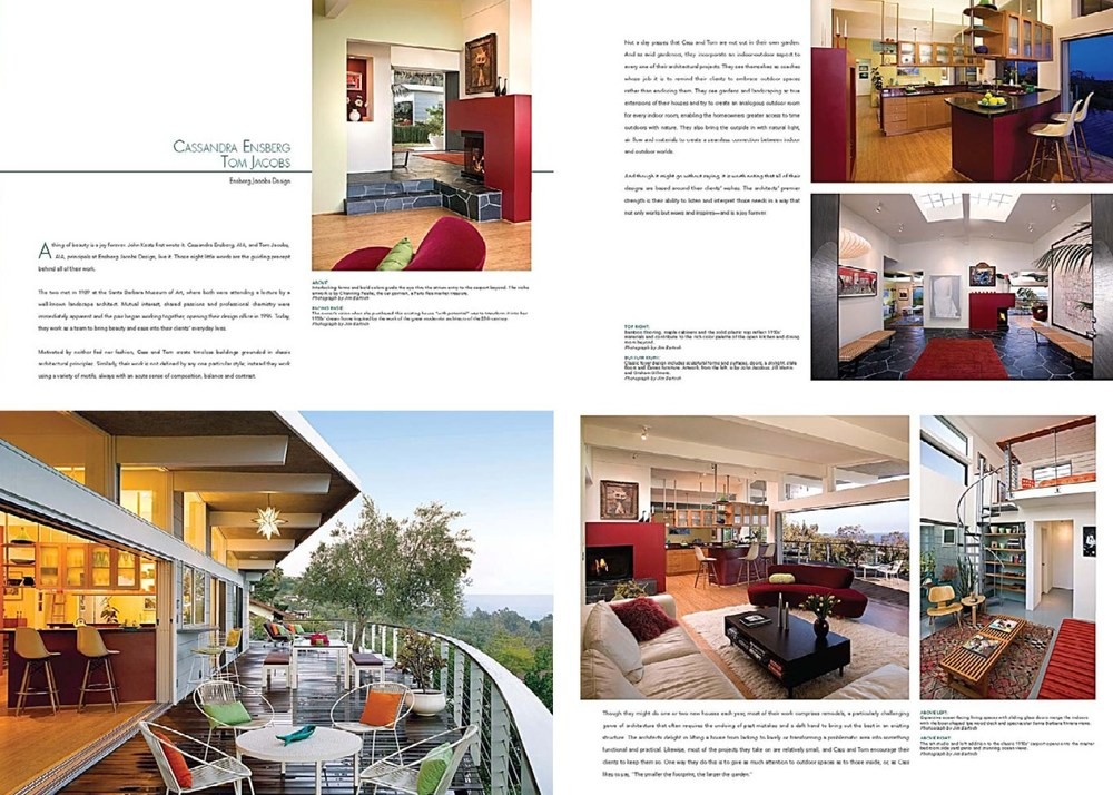 Dream Homes Book Feature