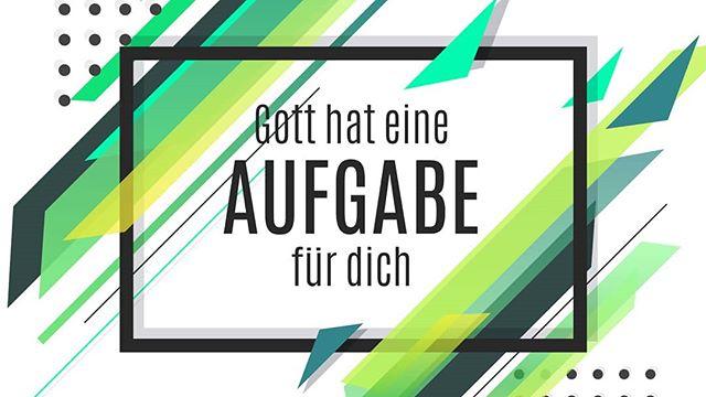 """Die Predigt vom letzten Jugendgottesdienst """"Gott hat eine Aufgabe für dich"""" (14.04.2018), mit Anita Hübner, ist jetzt online zum anhören!  www.czc-jugend.com/media"""