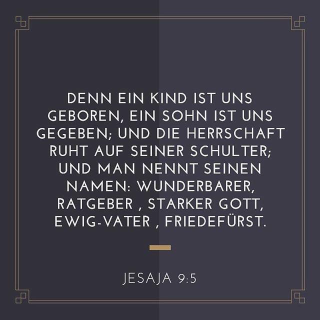 Jesus ist der Fürst des Friedens. Lass Seinen Frieden heute in deinem Herzen herrschen.