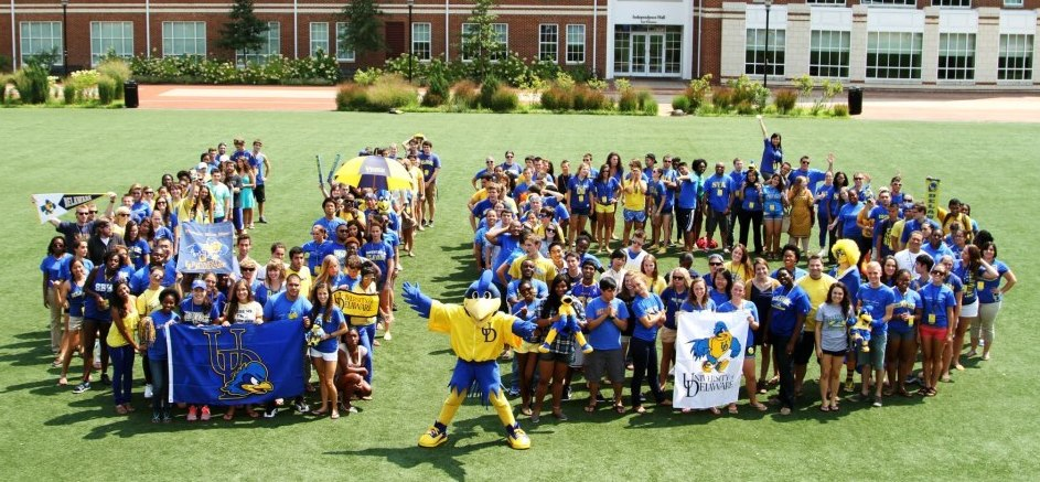 University of Delaware RA's for the 2012-2013 academic year.