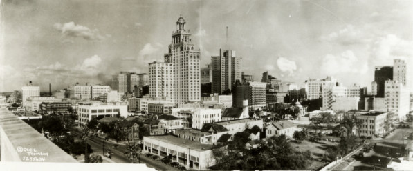 Houston in 1927
