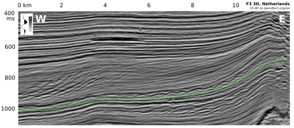 Seismic section