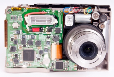 Stripped down camera