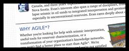 Agile Geoscience brochure image
