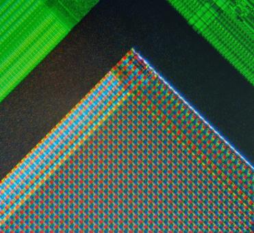 The cells of a digital image sensor.CC-BY-SA Natural Philo.