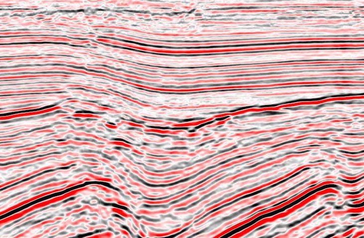 Seismic data from the  Virtual Seismic Atlas , courtesy of Fugro.