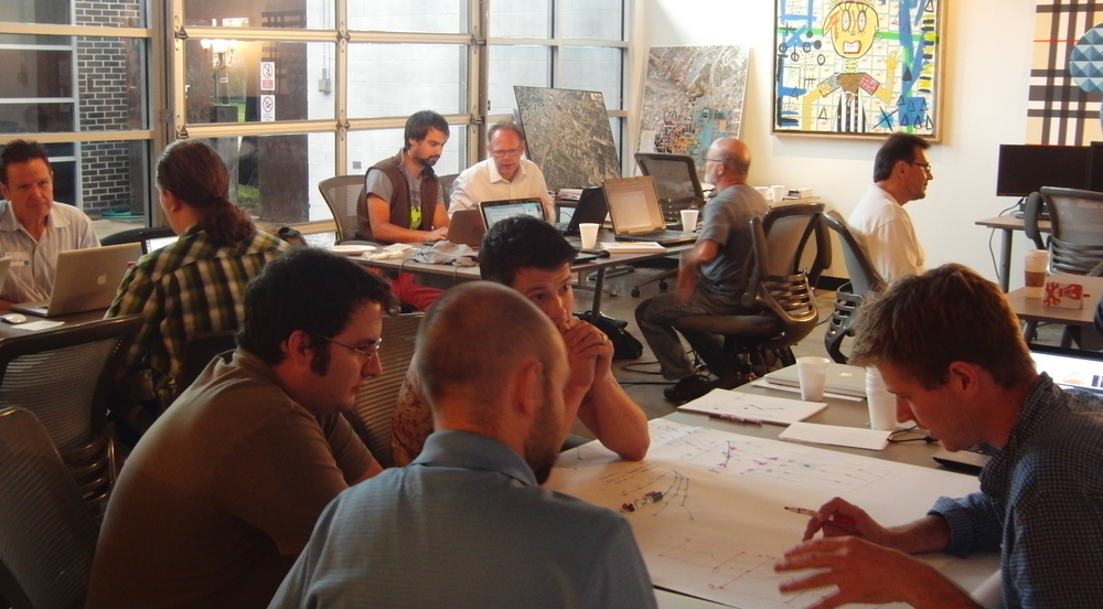 The first Geophysics Hackathon, Houston, 2013