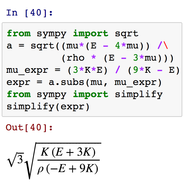 Deriving Equations In Python Agile