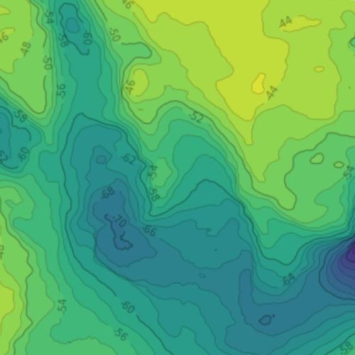 x lines of Python: contour maps — Agile
