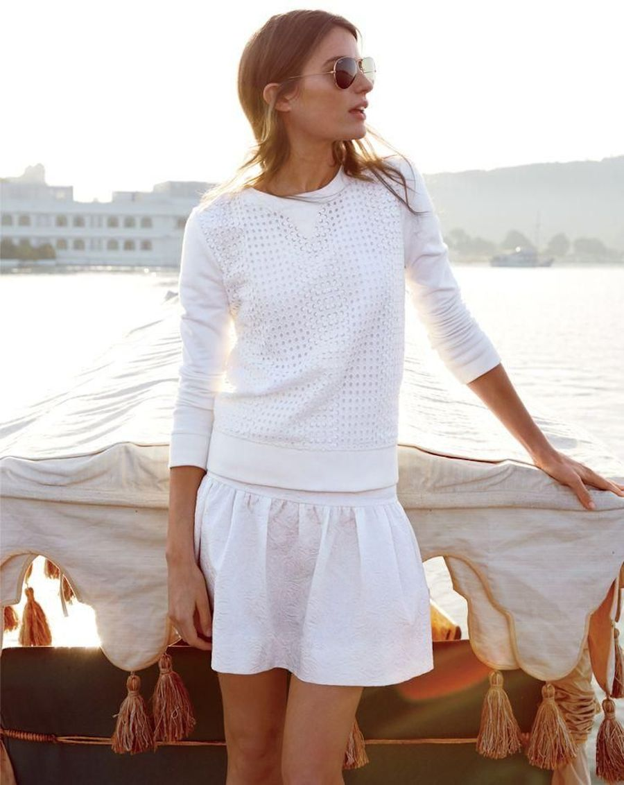 Jcrew passage to inda, jcrew style guide, june, monochrome look, jcrew white, summer white outfit