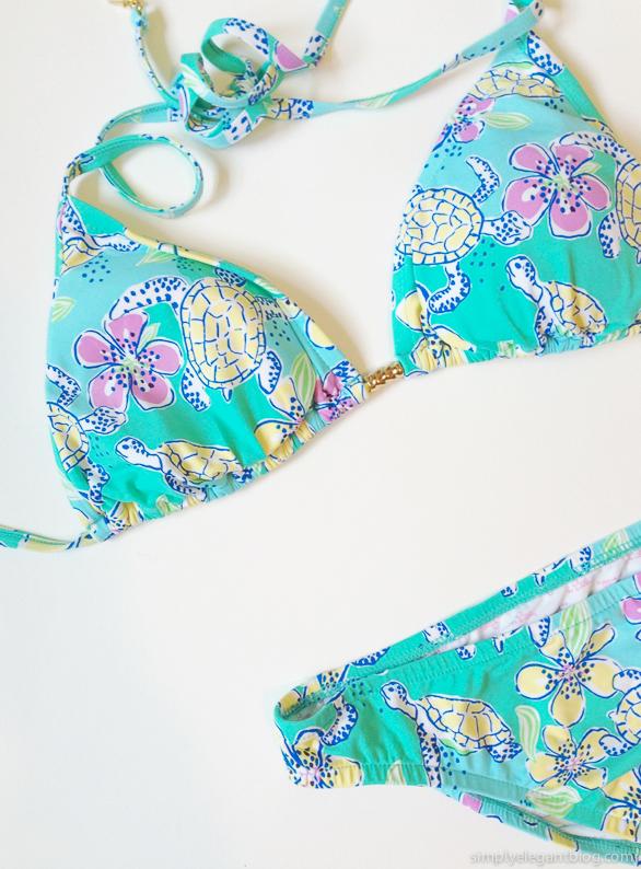 lilly pulitzer, lilly pulitzer bikini, preppy bikini, preppy summer