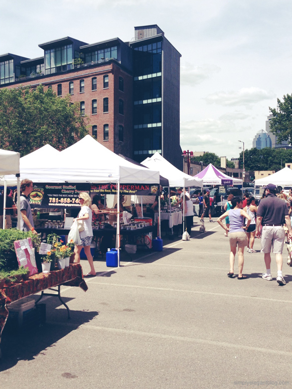 Boston Sowa Market, Summer farmers market, South Boston, Boston weekend