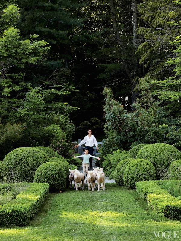 Miranda Brooks Inspiration, Vogue Gardens, Inspirational Gardens, Simply Elegant Gardens