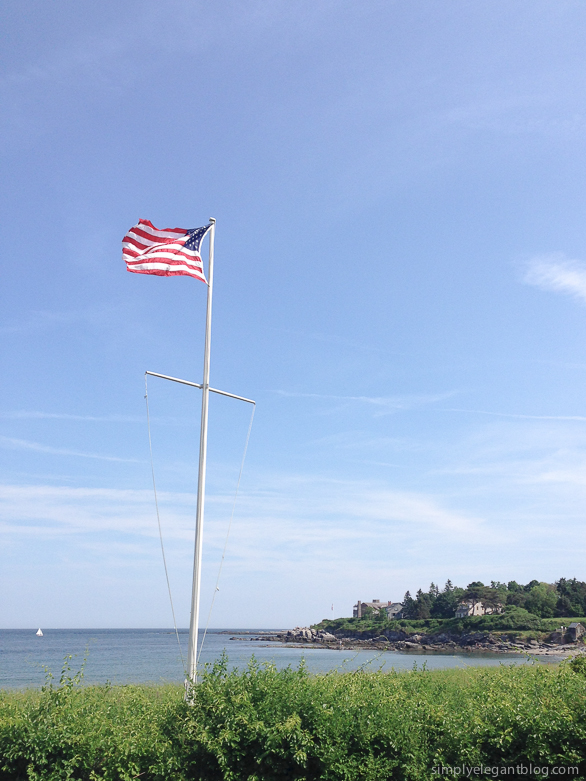 4th of July Photos, American Flag, 4th of July in Maine, Ocean Photographs