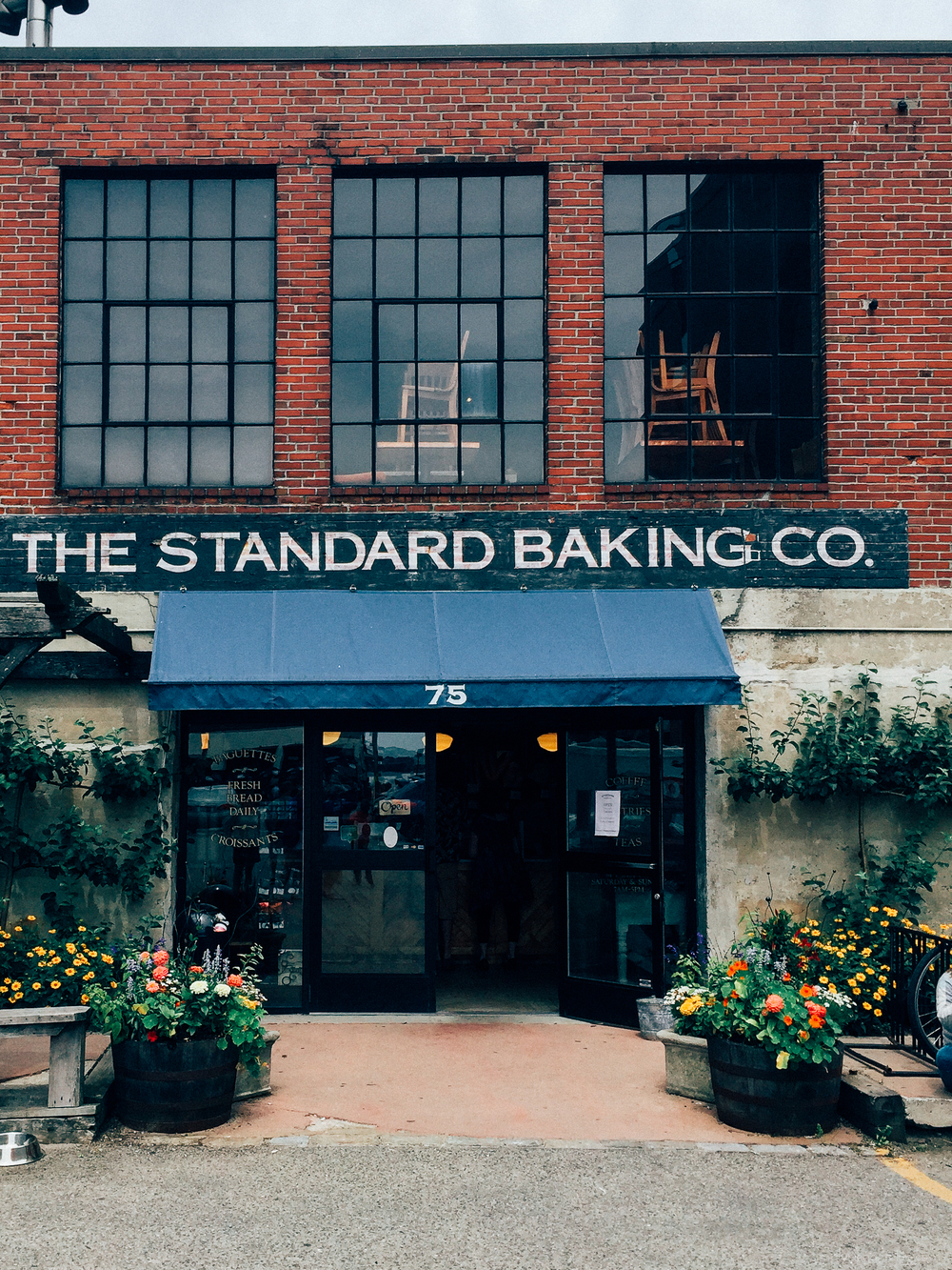 Standard Baking co = a portland, maine favorite! below four street.