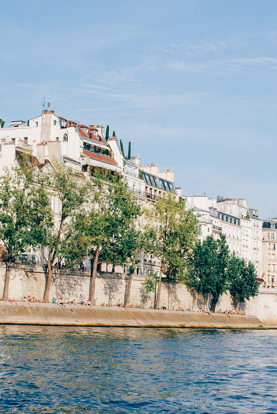 Simply Elegant / Paris Vacation Photographs - Seine River