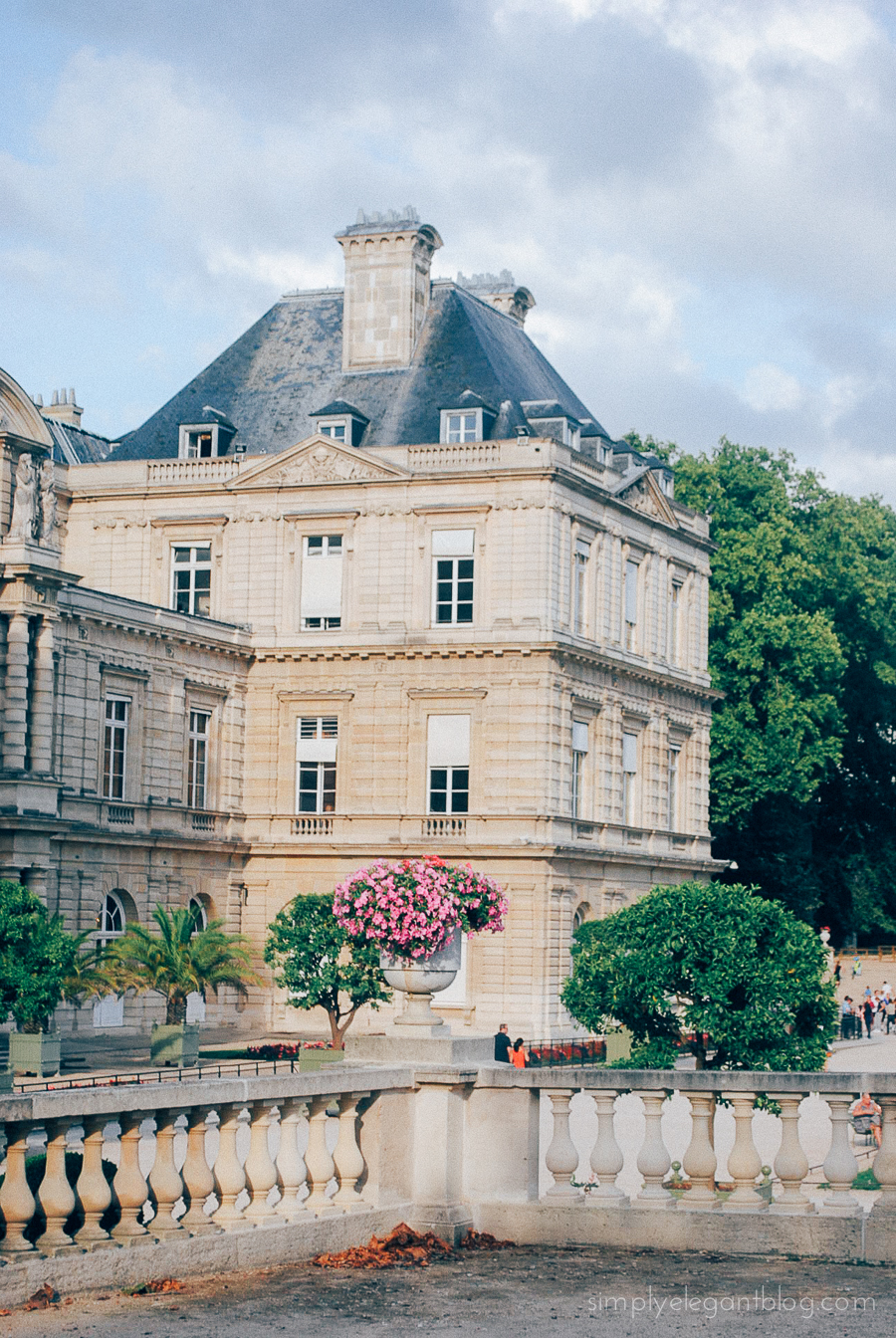Simply Elegant / Paris Vacation Photographs - Luxembourg Gardens