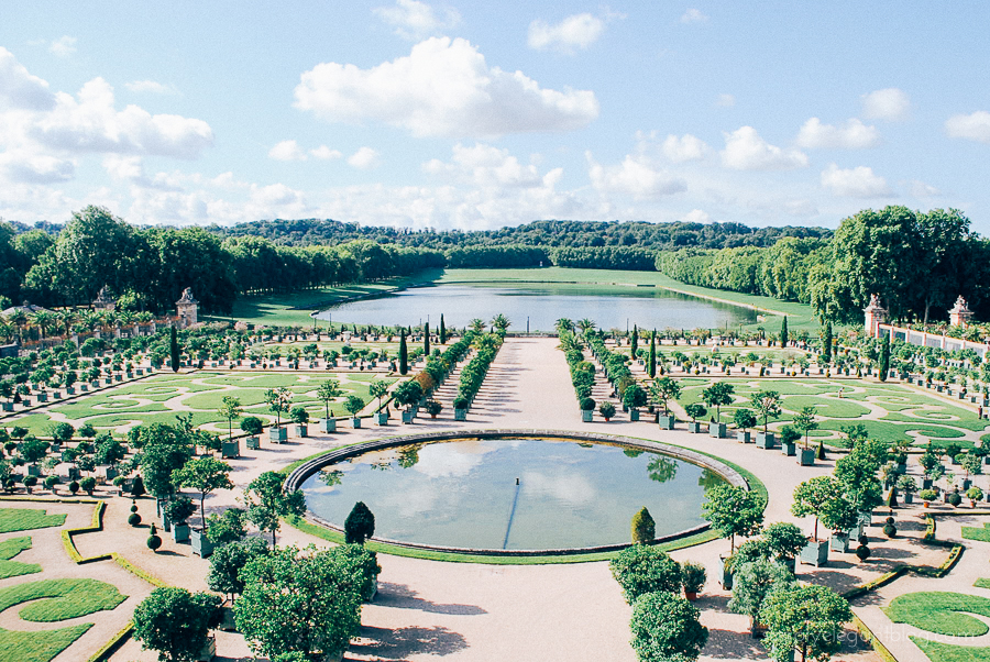 Simply Elegant / Paris Vacation Photographs - Versailles Gardens