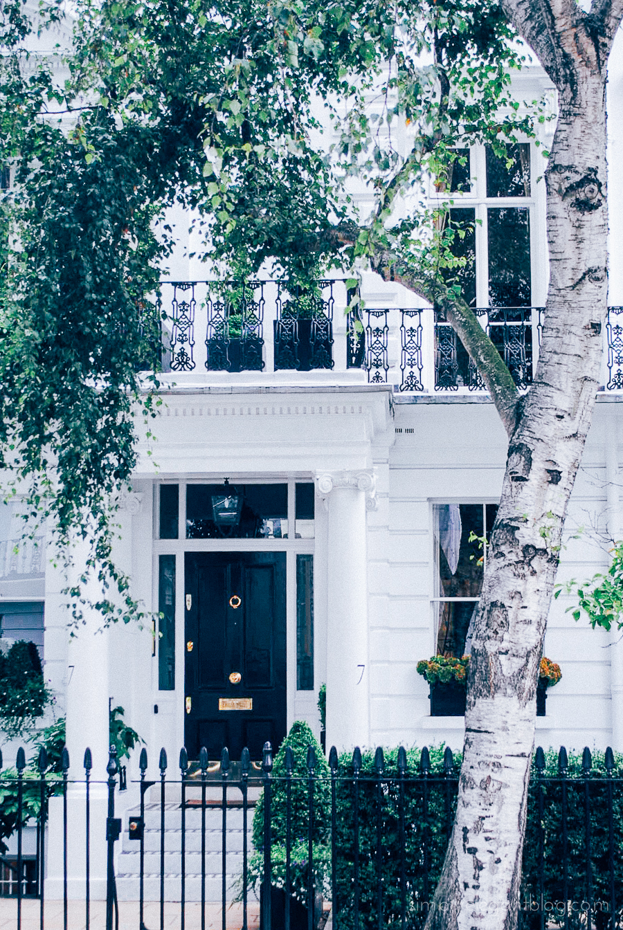 Simply Elegant / London Vacation Photographs - South Kensington Homes