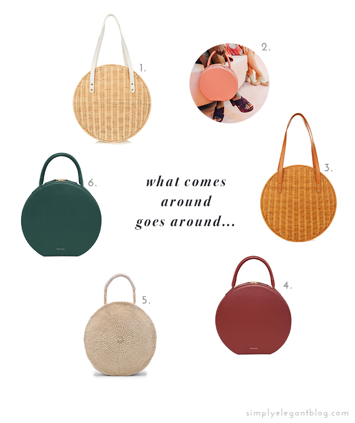 Circle Handbags - Mansur Gavriel and Clare V.
