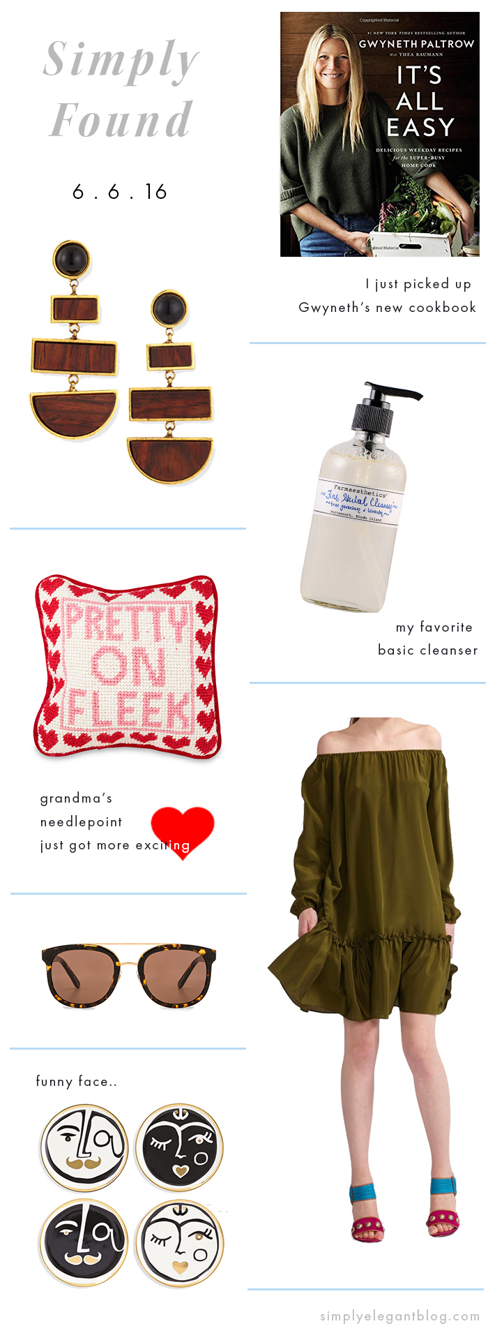 Simply Found #1 - Item Roundup