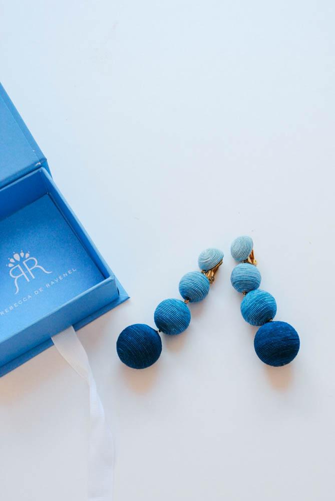 blue les bonbons by rebecca de ravenel