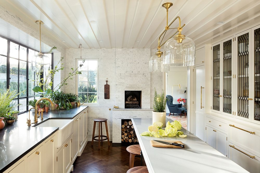 Oregon Home Design by Jessica Helgerson. Kitchen.