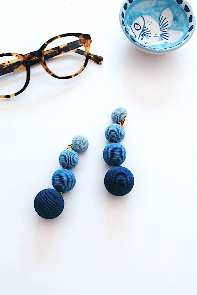 les bonbons statement earrings