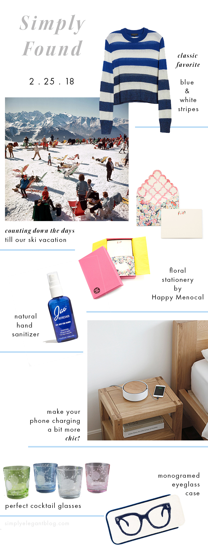 Simply Found 35 - Happy Menocal, Jao Hand Sanitizer, Slim Aarons