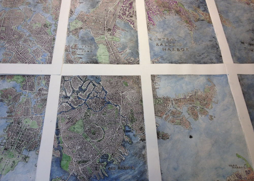 Map of Ralesis, Saiopor (watercolor overlay)