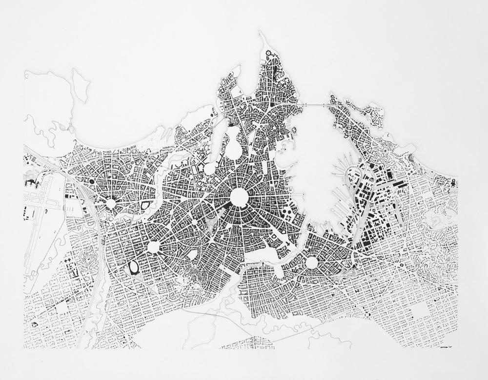 Map of Northport, Saiopor