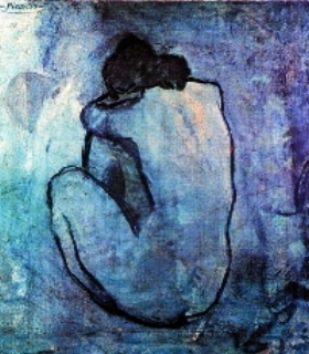 """Blue Nude"" by Pablo Picasso"
