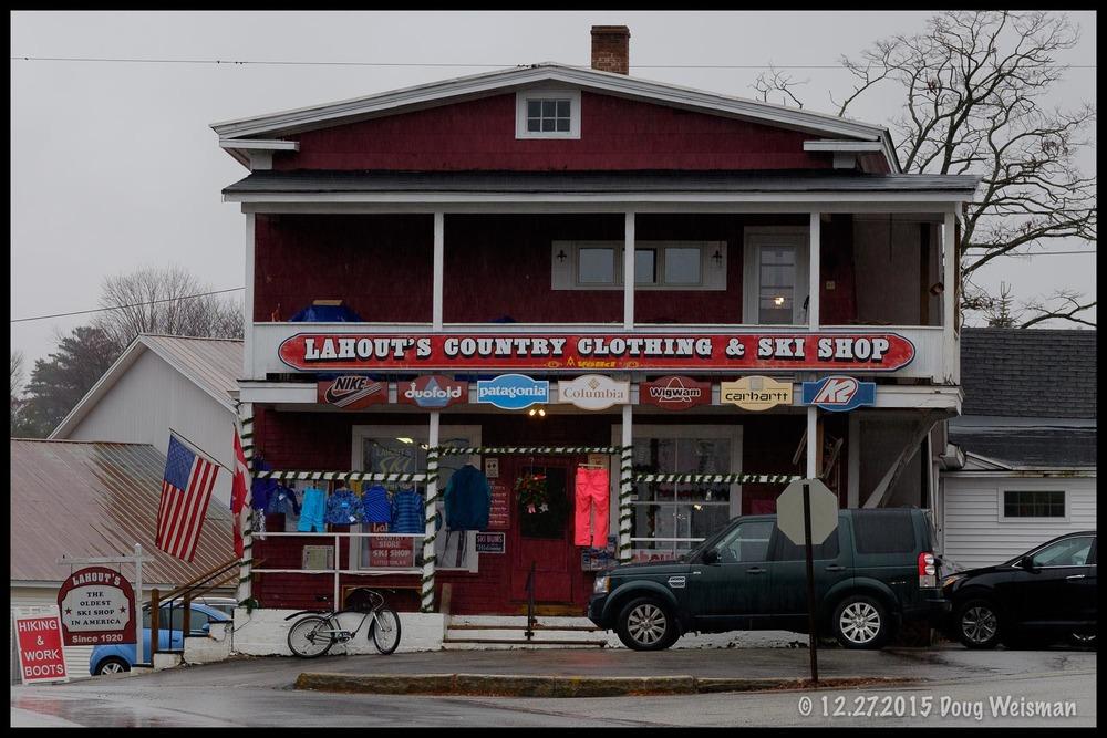 The oldest ski shop in America.
