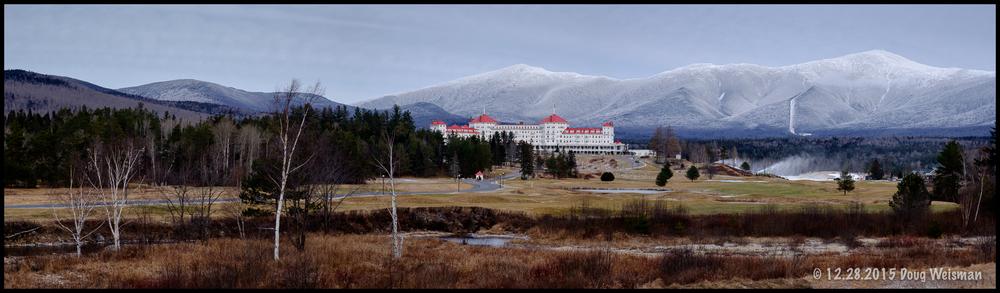 Winter is on the summit of Mt. Washington.