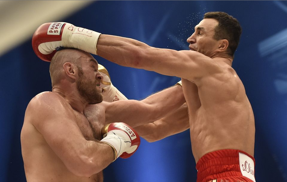 Tyson Fury dominate against the more experienced and disciplined Klitschko Photo credit: (AP Photo/Martin Meissner)