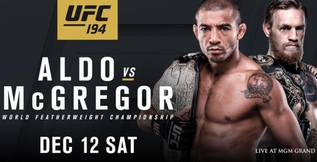UFC 194 brought Jose Aldo vs. Conor Mcgregor