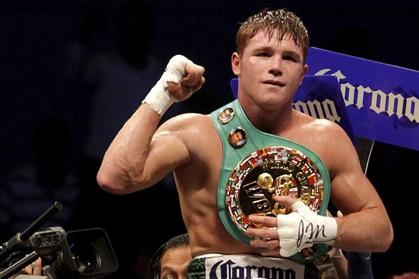 Canelo Alvarez is in the picture in 2016 for Golovkin.