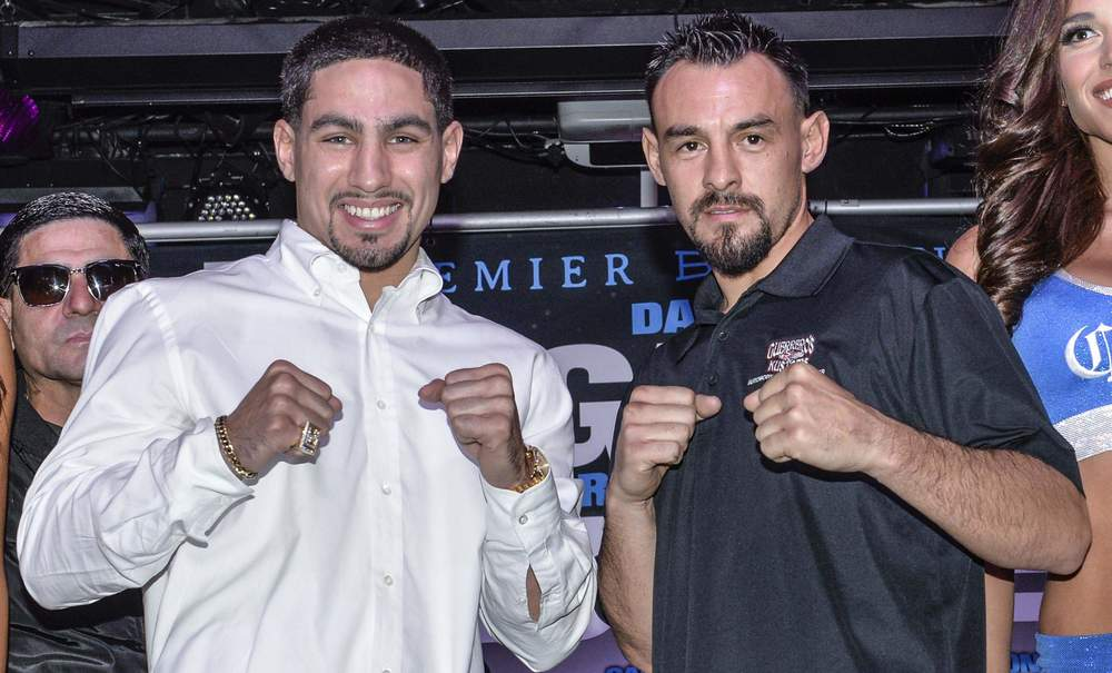 Danny Garcia and Robert Guerrero are set to clash Saturday night at the Staples Center in Los Angeles, CA.  Photo credit  Idris Erba/Premier Boxing Champions