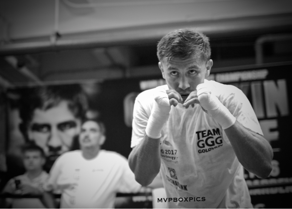 What's next or Gennady 'GGG' Golovkin? Why not Lara?  Photo Credit:  Marilyn Paulino/Mvpboxpics