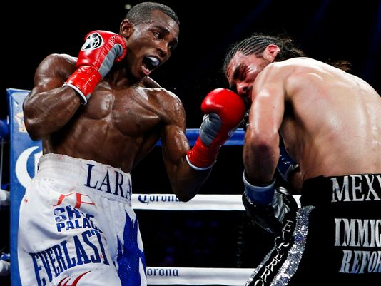Why not Erislandy Lara? He is a willing and very capable opponent for Golovkin. Photo credit:  Esther Lin/Showtime