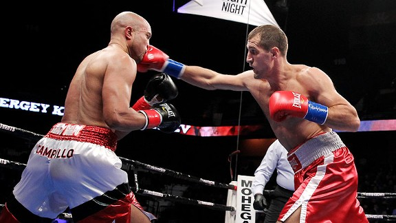 Kovalev takes care of business against Campillo.