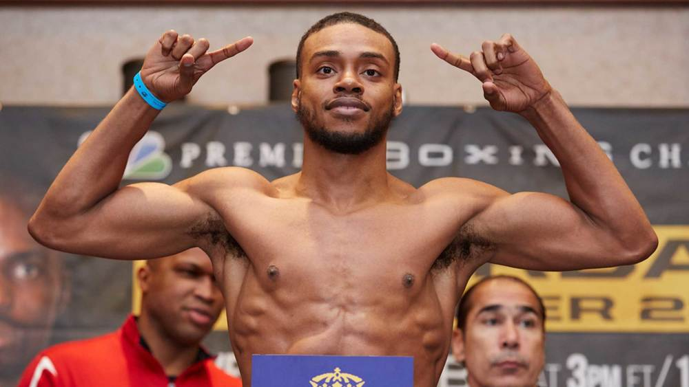 Errol Spence Jr. to take on Chris Algieri on April 16th live on NBC  Photo Credit :PBC